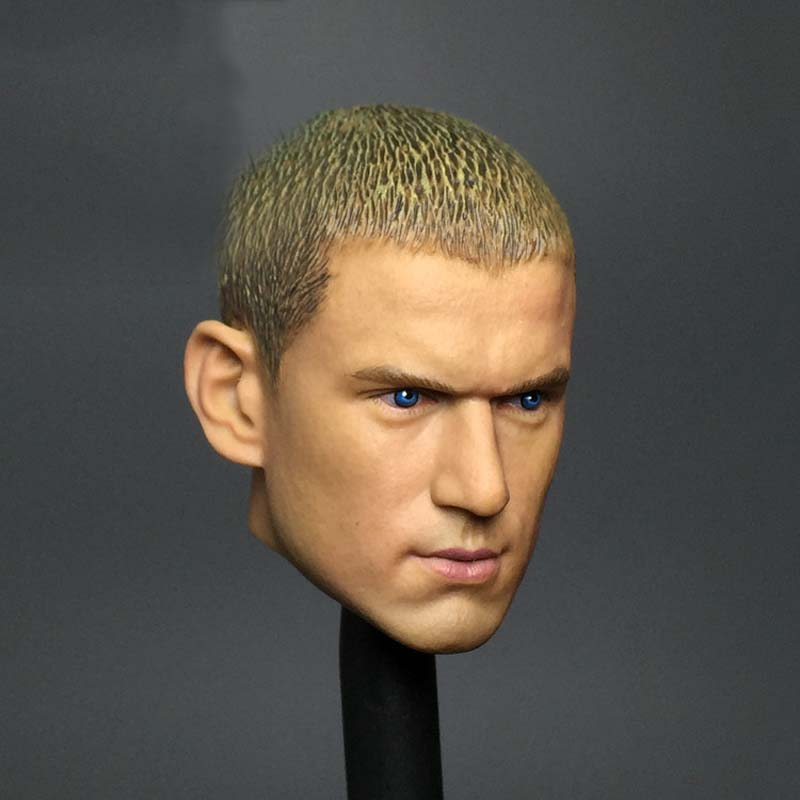 1/6 Scale Mike Head Carved Jailbreak Mike Scofield Wentworth Miller Head Carving 12 Figure Accessories<br><br>Aliexpress