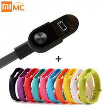 Original Xiaomi Mi Band 2 Charger USB Charging Cable Replacement Adapter For Xiaomi Band2 Smart Wristband Bracelet Sports Strap