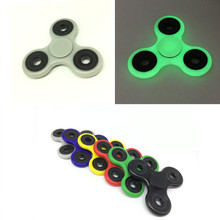 6 Colors Tri-Spinner Fidget Toy Plastic EDC Hand Spinner For Autism and ADHD  Anxiety Stress Relief Focus Toys Kids Gift