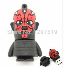 Hot cartoon Promotion Star Wars Darth Maul Storm cavalry Yoda Boba Fett usb 2.0 usb flash drive Card Memory Stick Drives S121