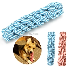 Woven Corn Rope Pet Toy Dental Dog Teething Health Teeth Chew Training Tool Play(China)