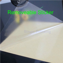 30 Sheets A4 Transparent Clear Removeable ( Not Permanent Glue) Sticker ONLY For Laser Printer Lamination Film(China)