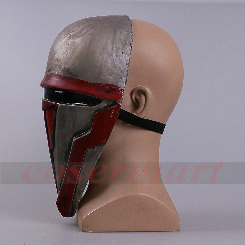 Movie Star Wars Knights of the Old Republic Darth Revan Mask Cosplay Helmet Masks Adult Latex Halloween Party Prop (7) -