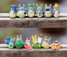 BEST SALE Toy set 12PCS/Set Hayao Miyazaki Totoro Cartoon Anime Animation Model Toy doll Excellent Gift MagicToys 0013(China)