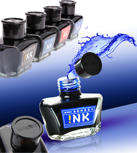 Fountain pen ink M&G 60ml glass ink bottle for Fountain pens 4 Colors to choose office and school stationery Free Shipping(China)