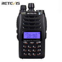 Retevis RT23 Walkie Talkie 5W Cross-Band Repeater UHF VHF136-174/400-480Mhz Dual PTT Dual Receive 128Ch Amateur DTMF Radio A9122(China)