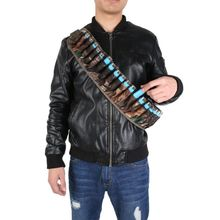 New Camouflage Shotgun Shell Holder Belt Hunting Sports Accessories Waist Shoulder Bullet Bag 25 Shotgun Shells Holster