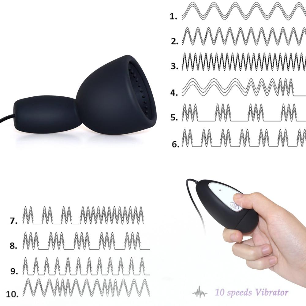 _03Silicone 10 Speed Vibrator for Men glans Stimulator Penis Vibrators Male Masturbators Adult Sex Products Sex Toy for Men