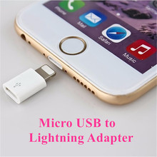 Micro USB Data Sync Charger Adapter Connector Android Female to 8 Pin Male Apple to Micro USB for iPhone 5 5s 6 6s 7 Plus Cable