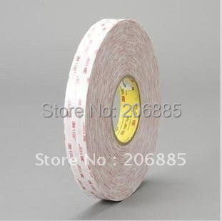 3M VHB 4914 doulbe sided acrylic adhesive foam tape 12mm*33M/5rolls/lot we can offer you any size<br>