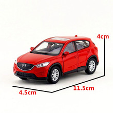 Brand New WELLY 1/36 Scale JAPAN MAADA CX-5 SUV Diecast Metal Pull Back Car Model Toy For Gift/Collection/Kids/Decoration(China)