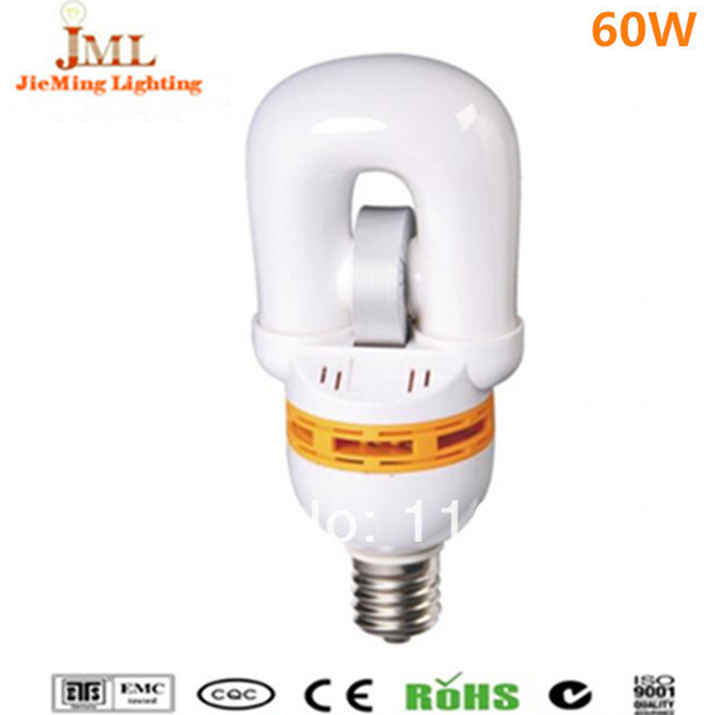 Hot saes!! 60W 4800lm china energy saving lamp induction bulb lamp E27 85Ra 100,000hrs cold warm white color nduction light<br><br>Aliexpress