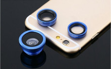 For original asus zenfone 3 5max zc550kl Goldflower  zs570kl Wide-Angle Macro Fish eye 3 in 1 Phone Lens with Universal Clip