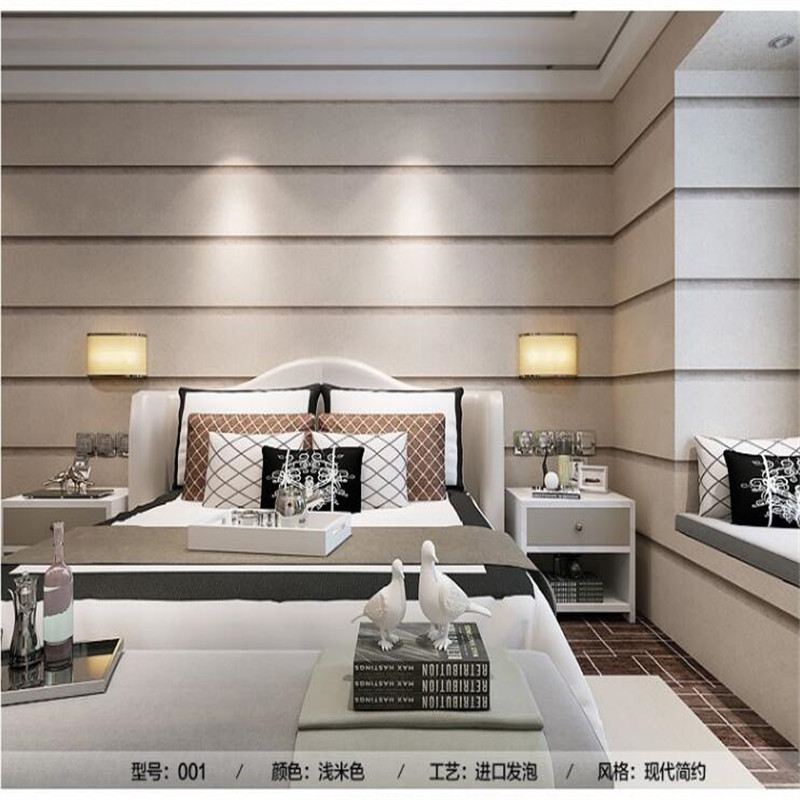 Modern Wallpaper Wide Striped Rough Marble Pattern Stripe Bedroom Living Room Sofa Film TV Wallpaper Backdrop Wall Paper Roll<br>