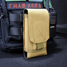 5.5 inches For Iphone 6/6s plus Molle Bag Tactical Holster Hook Loop Belt Pouch Holster The Mobile Phone Cover Case Pouch