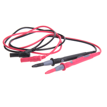 1 Pair Universal Multimeter Test Leads Probe Cable with 105cm PVC silicon Extension Line Sharp Tip Test Probe