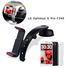 3 in 1 360 degree Car Windshield Mount Cell Mobile Phone Holder Bracket Stands For LG Optimus G Pro F240L F240s F240k F240