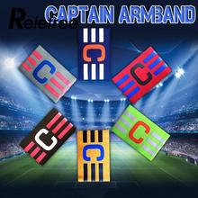 Captain Armband Colorful Football Soccer Flexible Sports Adjustable Player Hockey Rugby Sports Adjustable Games Tournament(China)