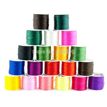 12Colors 20meters/pack Strong Clear Rubber Flat Stretch Elastic String Crystal Cord Thread Beading Wire Y630