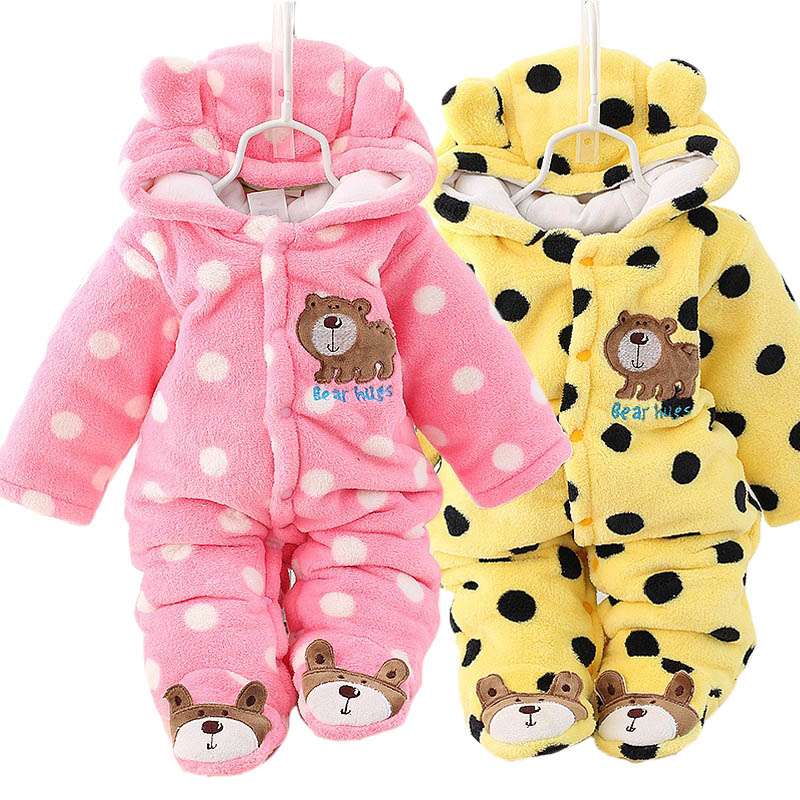 Spring Autumn Baby Clothes Flannel Baby Boy Clothes Cartoon Animal shaped Jumpsuit Baby Girl Rompers Baby Clothing<br><br>Aliexpress