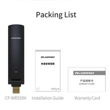 USB 2.0 Wireless WiFi Repeater Signal Amplifier 300Mbps CF-WR310N wi-fi router Antenna Wifi Booster Wireless WiFi Range Extender(China)