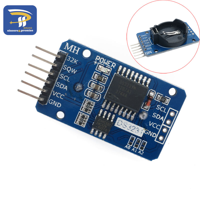 DS3231 AT24C32 IIC Module Precision Clock Module DS3231SN Memory module (without battary)