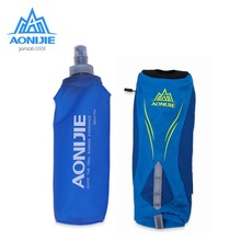 AONIJIE Running Water Bag Backpack Portable Handheld Hydration Pack Soft Kettle Holder Outdoor Sports Bag Hiking Camping(China)