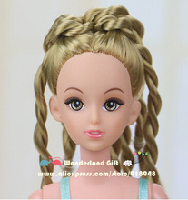30cm 12 joints naked doll,toys for girls kids,pretty face princess famous brand,cheap price good looking gift suit for princess
