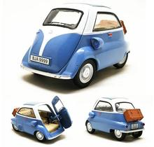 High imitation ISETTA 250 flash music toy vehicle, 1:32 alloy pull back model car, collection model, free shipping