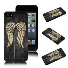 Fashion The Walking Dead Daryl Dixon HardCover durable mobile cover for iPhone SE 4 4S 5 5S 5c 6 6s 6plus 7 7Plus Phone Cases(China)