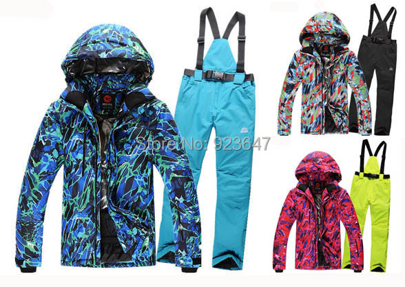 Cheap skiing suit snowboard men skiing ski suit set waterproof &amp; windproof snow warm battle fatigues  jackets and pants for men<br><br>Aliexpress