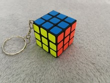 3*3*3 Mini KeyChain Magic Cube Educational Rubik's Cube Puzzle Toy for Children