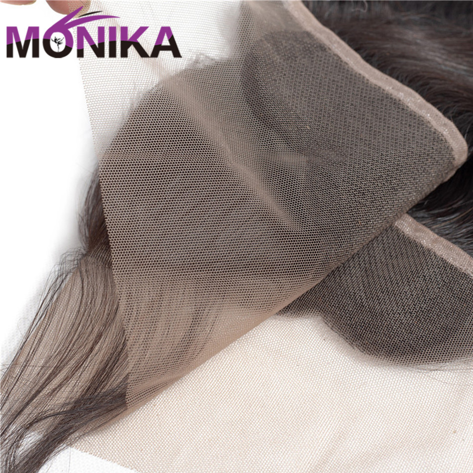 Brazilian Deep Wave 134 Lace Frontal Ear to Ear Closure FreeMiddleThree Part Frontal with Baby Hair Monika 100% Human Hair (6)