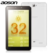 AOSON 7 inch unlocked 3G Phone Call Tablets PC Dual Core 4GB ROM 1024*600 Android 4.4 MTK8312 Dual Camera GPS mobile phone