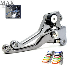 Buy titanium foldable cnc brake handle clutch levers dirt bike parts brake clutch lever KTM 450 SMR 2007 2008 2009 for $21.16 in AliExpress store