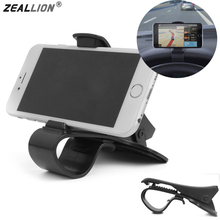 ZEALLION Universal Antiskid Car Dashboard Mount Holder Clip HUD Cell Phone Stand Bracket For iphone samsung(China)