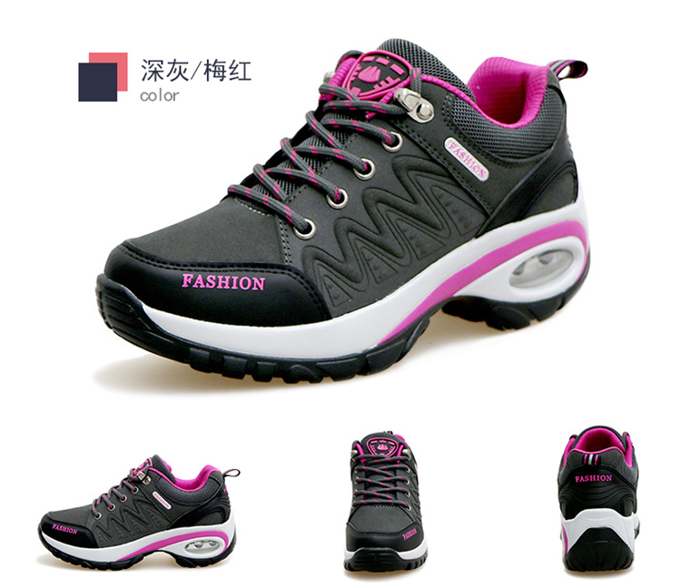 17 High quality Sneakers women shoes Running shoes woman leather Sport Shoes Air damping Outdoor arena Athletic zapatos mujer 10