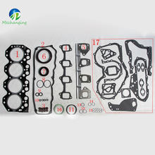 14B For TOYOTA COASTER Bus 3661cc METAL Engine Parts Full Set Automotive Spare Parts Engine Gasket 04111-56060 51012600