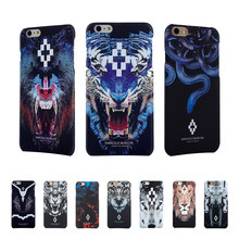 Животное PC Burlon Чехлы для чехол для iPhone 7 6 5S SE Marcelo burlon чехол Тигр Лев Fundas для iphone 6, iphone 6s, iphone 7 Plus Marcelo крышка(China)