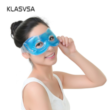 KLASVSA Hot Cold Relaxing Soothing Face Eye care Gel Mask Sleeping Eye Mask Eye Mask Shade Comfort Cover(China)