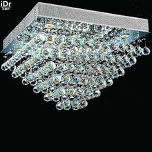 Gold Ceiling Lights polished chrome foyer lamp crystal lamp bedroom lamp hotel lamp 60cm L x 60cm W x 40cm H
