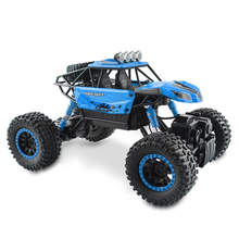 Low-cost Sales High Speed Off-road Vehicles RC Car Double Motors Drive Bigfoot Big Truck Model Off-Road Vehicle Toys