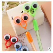 Creative stationery wholesale ballpoint pen new student stationery prize pupils' eyes Supplies office Pens for school cute(China)
