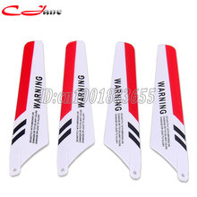 SYMA 4pcs/set S107G RC Helicopter toys accessories S107C Main Blade Upgraded version Prolellers Spare Parts(China)