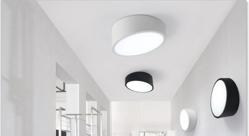 Modern Home Decoration Geometric Led Diner Ceiling Lamp Led Circle Bedroom Light Corridor Ceiling Light Free Shipping<br><br>Aliexpress
