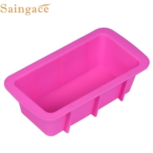 Zero  Silicone Bread Loaf Cake Mold Non Stick Bakeware Baking Pan Oven Rectangle Mould