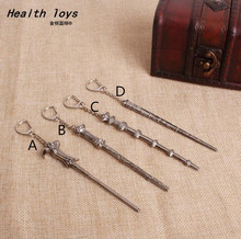 1pcs Harry Potterr Movie Six Phalanx Magic Wand Necklace movie action toy figure wholesale Action Toy Figures(China)