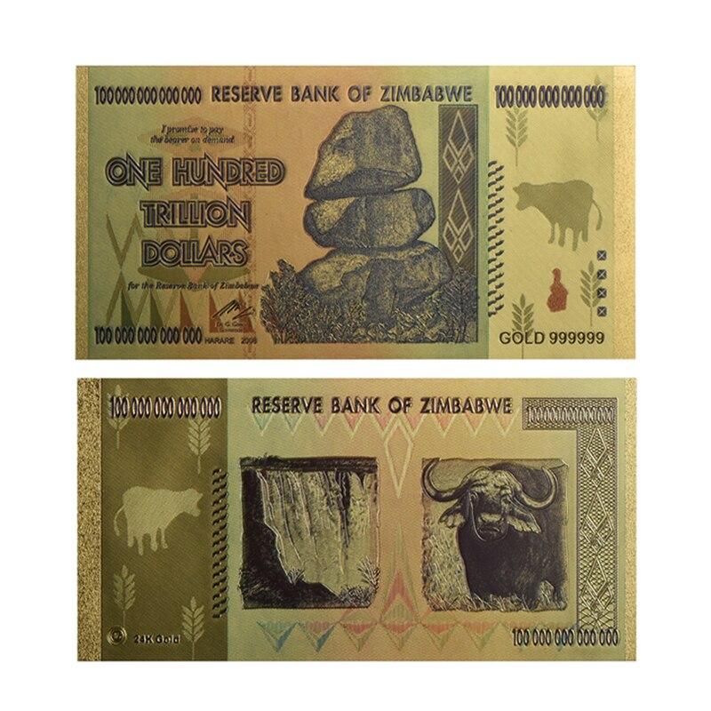 GREECE 500 DRACHMAI BANKNOTE GOLD 24K MINT NEW!!!