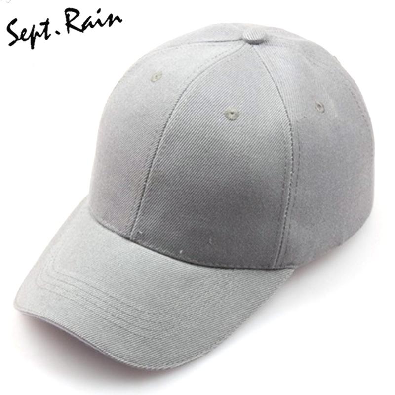 Compre Gorras De Trabajo Gorra De Béisbol De Hueso Sólido Sombrero ... 800ff6e6006