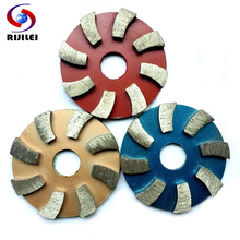 (3JKP) 3pieces/lot 3inch Metal grinding pads 80mm diamond polishing pads Metal dry concrete polishing pad polishing granite(China)